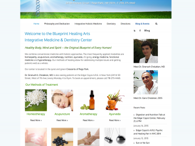 Blueprinthealingarts.com - Integrative Medicine and Dentistry Center in the Queens