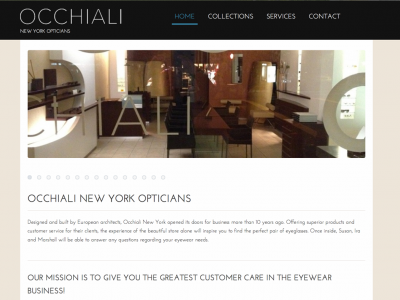Occhiali-newyork.com, New York Upscale Optician Store, Upper Eastside